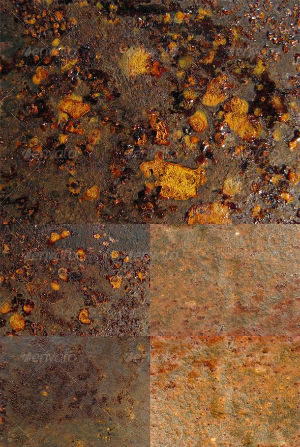 Rusty pack 01 - Metal Textures