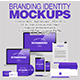 Branding Identity Mockups - GraphicRiver Item for Sale