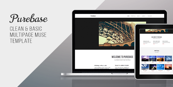 Purebase – Multipurpose Muse Template