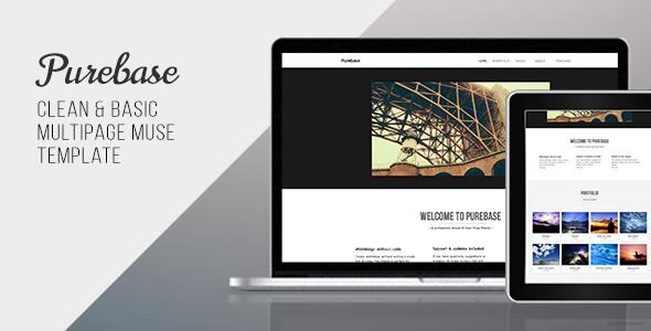 Purebase - Multipurpose Muse Template