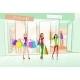 Women Friends Shopping Bags Shop Mall Center