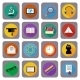 Icon Set For Online Education - GraphicRiver Item for Sale
