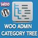 WooCommerce Admin Category Tree