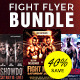 Fight Flyers - GraphicRiver Item for Sale