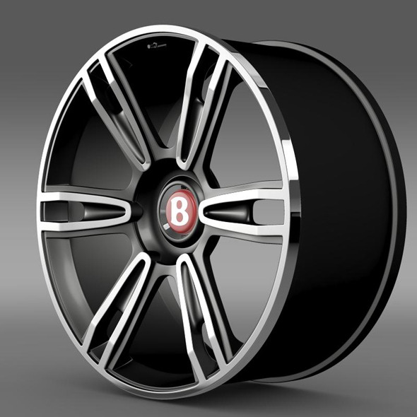 Bentley Continental GT rim 3 - 3DOcean Item for Sale