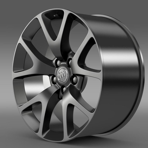 Buick Regal GS rim - 3DOcean Item for Sale