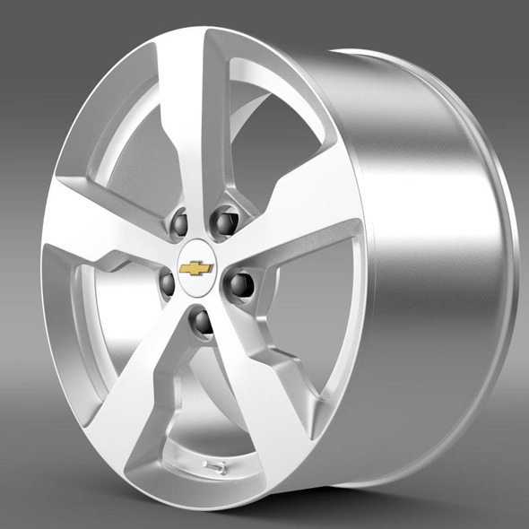 Chevrolet Volt rim - 3DOcean Item for Sale