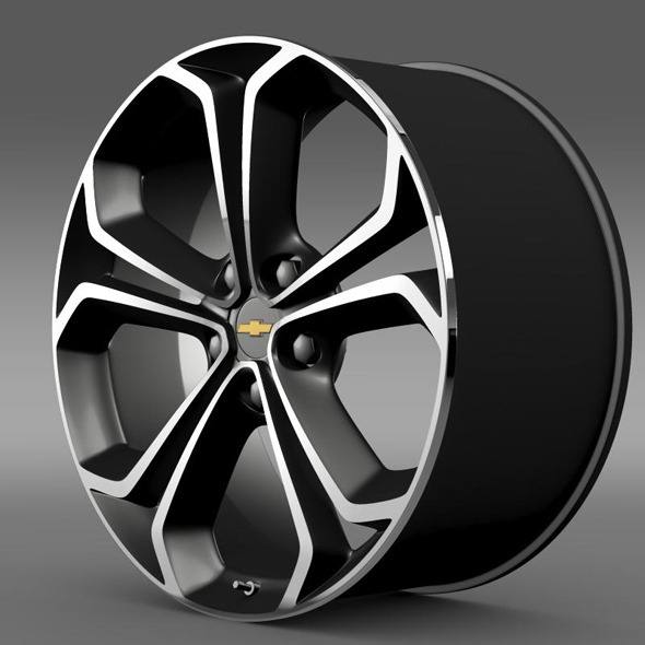 Chevrolet Volt Z spec concept rim - 3DOcean Item for Sale