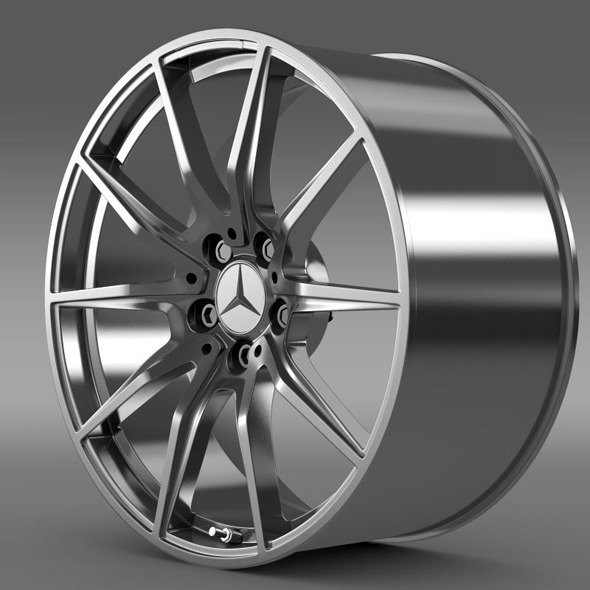 Mercedes Benz AMG GT rim - 3DOcean Item for Sale