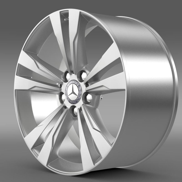 Mercedes Benz S 350 rim - 3DOcean Item for Sale