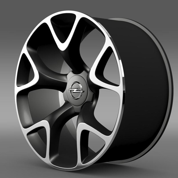 Opel Insignia OPC Concept rim - 3DOcean Item for Sale