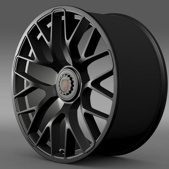 Porsche GTS 2015 rim - 3DOcean Item for Sale