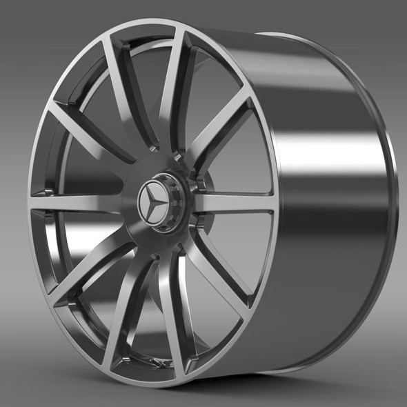 AMG Mercedes Benz S 63 rim - 3DOcean Item for Sale