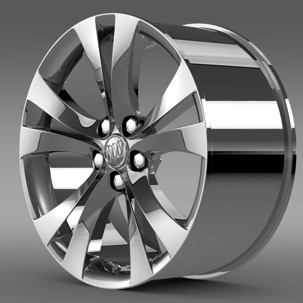 Buick Regal rim - 3DOcean Item for Sale