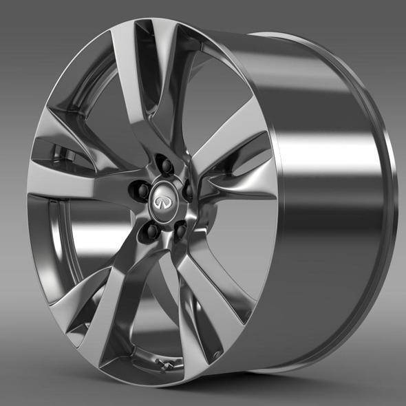 Infiniti M rim - 3DOcean Item for Sale