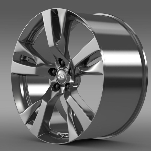 Infiniti Q70 rim - 3DOcean Item for Sale