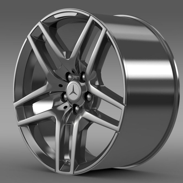 Mercedes Benz S 500 AMG rim - 3DOcean Item for Sale