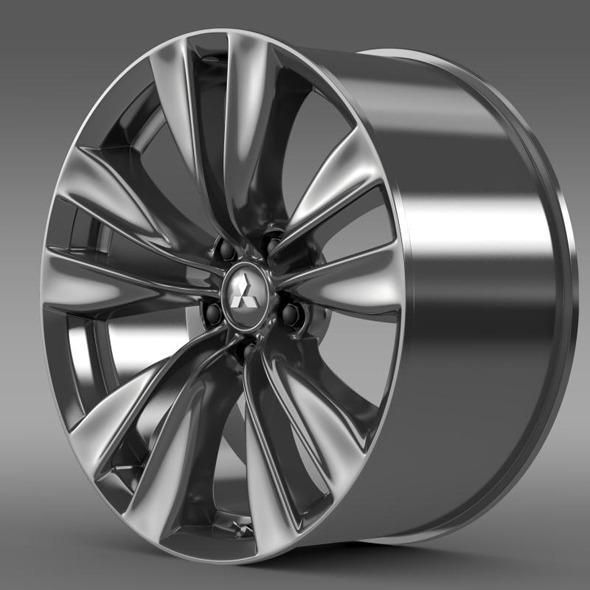 Mitsubishi Proudia rim - 3DOcean Item for Sale