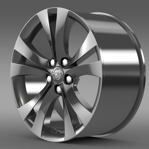 Opel Insignia rim - 3DOcean Item for Sale