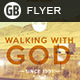 Walking With God | Flyer - GraphicRiver Item for Sale