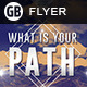 What is your path | Flyer - GraphicRiver Item for Sale