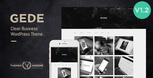 Gede – Clean Business WordPress Theme