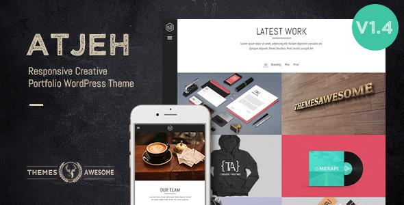 Atjeh – Responsive Creative Portfolio