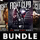 Fight Club Flyers Bundle - GraphicRiver Item for Sale