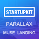 Startupkit - Parallax Muse Template - ThemeForest Item for Sale