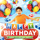 Kids Birthday Party Invitation - GraphicRiver Item for Sale