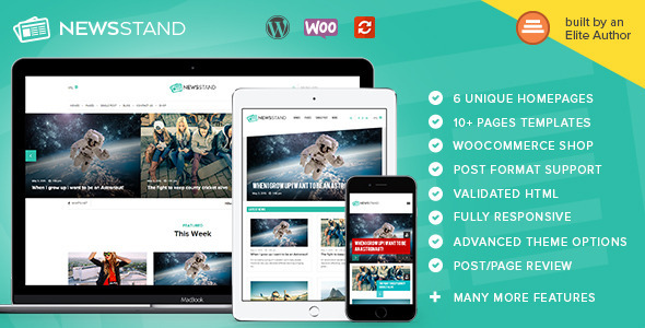 NewsStand – Magazine/Blog/Shop WordPress Theme