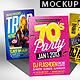 Flyer Poster Mockups V5 - GraphicRiver Item for Sale