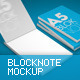A4 - A5 Blocknote Mock-Up - GraphicRiver Item for Sale