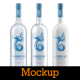 Vodka Bottle Mockup - GraphicRiver Item for Sale