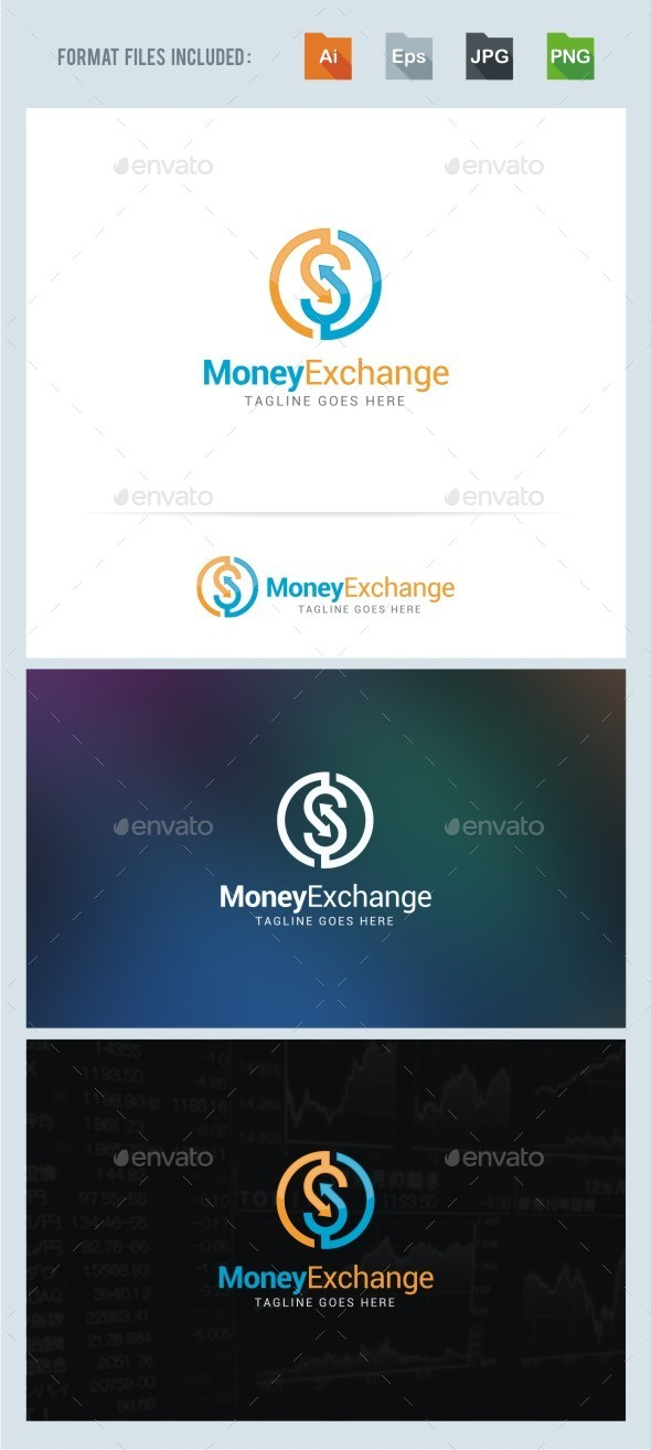 Money Exchange Logo By Beloveart Graphicriver