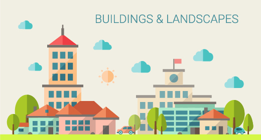 Buildings and Landscapes