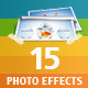 15 Photo Effects - GraphicRiver Item for Sale