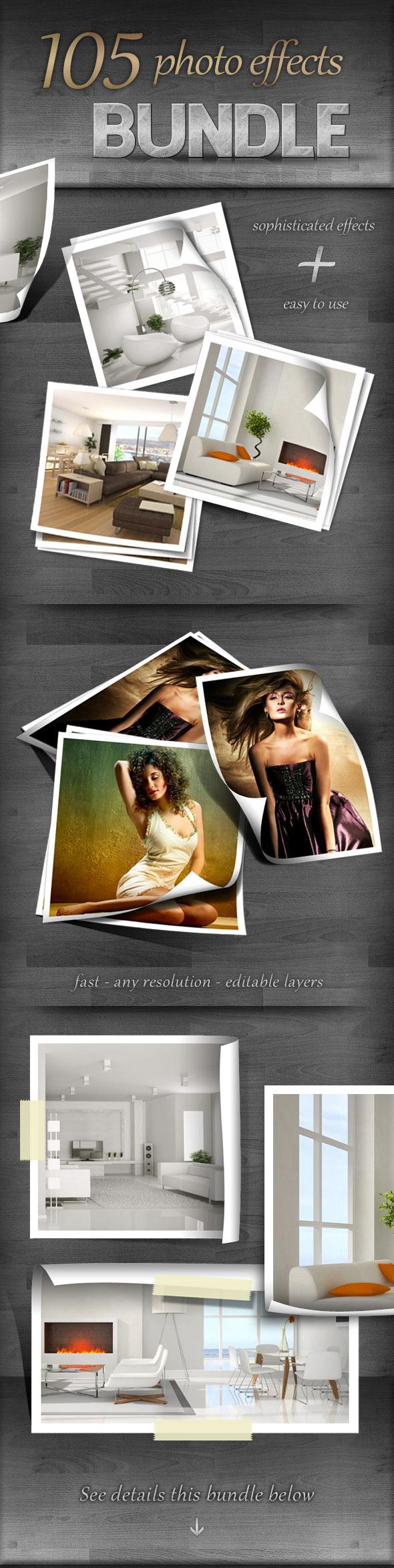 105 Photo Effects - Bundle - Utilities Actions