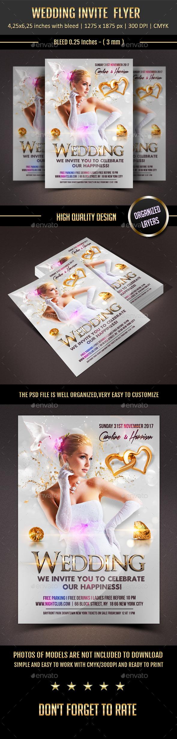 Wedding Event Flyer
