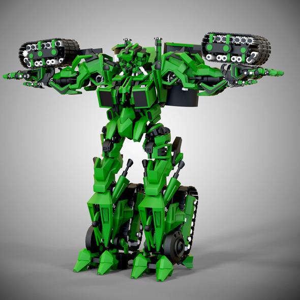 Ultrabot - 3DOcean Item for Sale