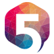 Number Five Logo - GraphicRiver Item for Sale
