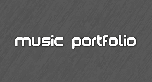 Music Portfolio