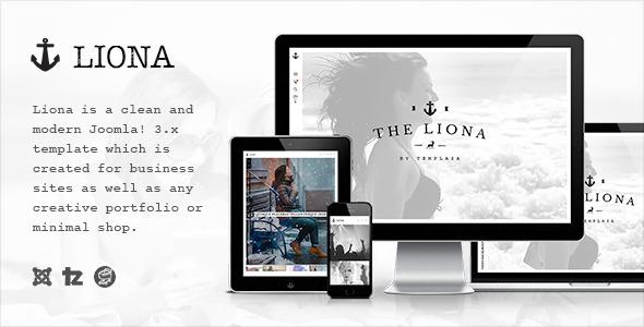 Liona – Responsive Portfolio Joomla Template