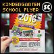 Kindergarten Junior School Flyer - GraphicRiver Item for Sale