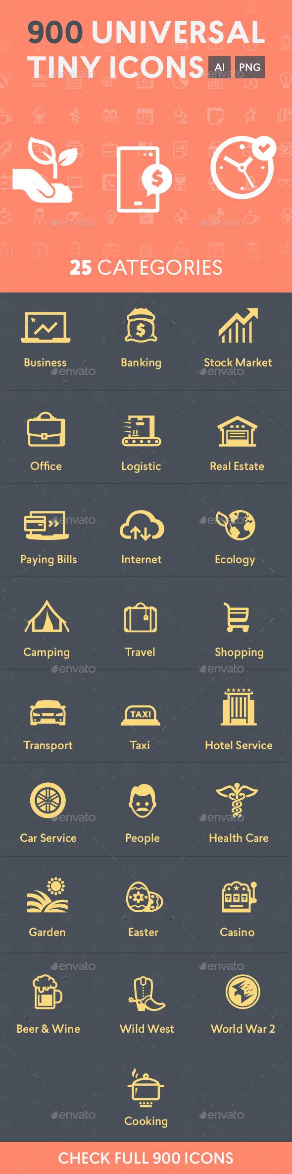 Universal Tiny Icons