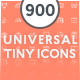 Universal Tiny Icons - GraphicRiver Item for Sale