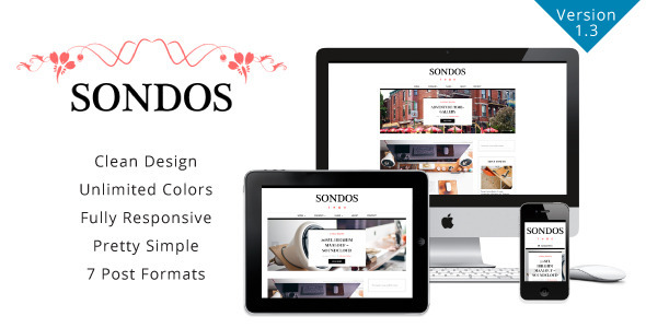 Sondos – Clean WordPress Blogging Theme