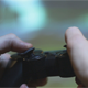 Boy Playing on the Console Using the Joystick - VideoHive Item for Sale
