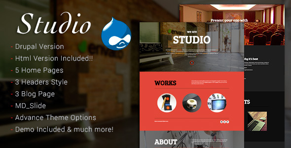 Studio – Multipurpose Technology Drupal Theme