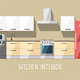 Kitchen Interior. Kitchen Furniture. - GraphicRiver Item for Sale